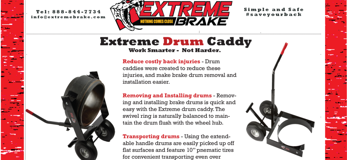 Drum Caddy Brochure